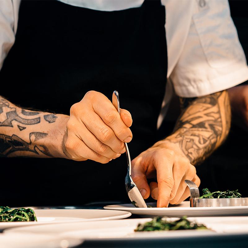 Página web y fotografías para restaurantes de Sevilla